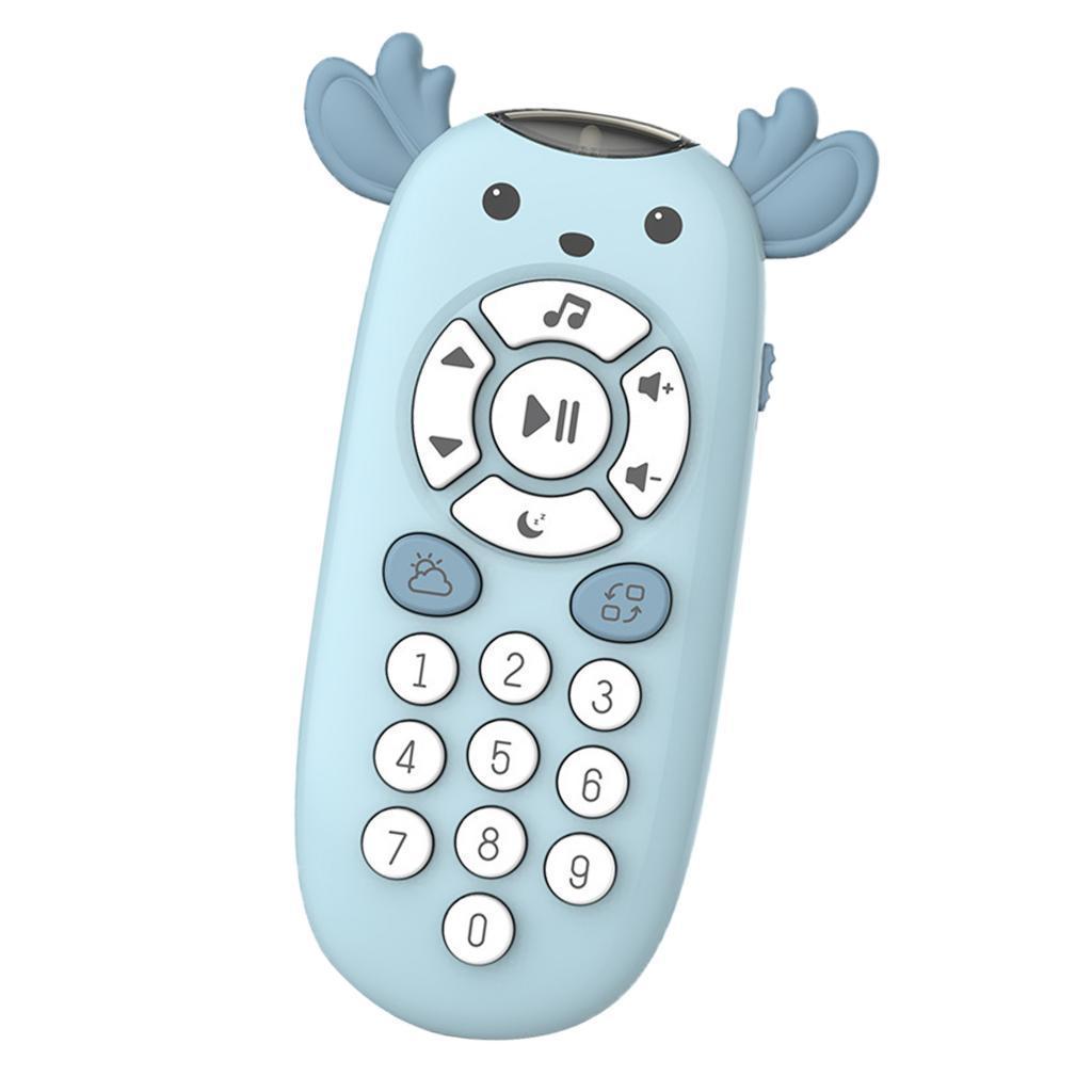 miniatura 6 - TV Telecomando Luce Per Bambini Musica Suono Attività Di Apprendimento