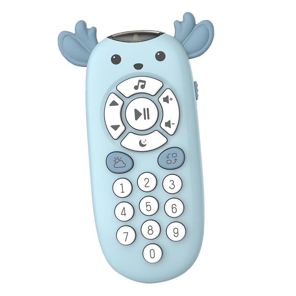 miniatura 5 - TV Telecomando Luce Per Bambini Musica Suono Attività Di Apprendimento