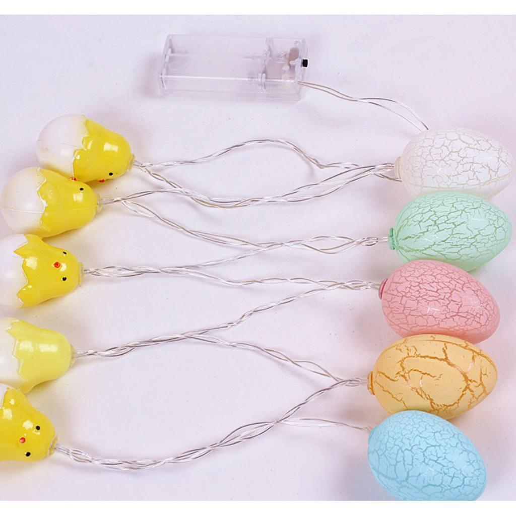 Easter Egg String Light Battery Operated Home DIY Holiday ...