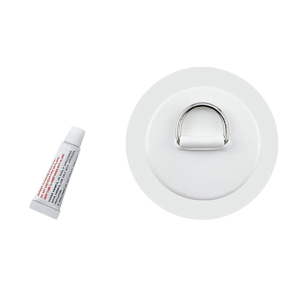 D-Ring Befestigung Edelstahl D-Ringe Pad Patch für PVC Schlauchboot Kajak