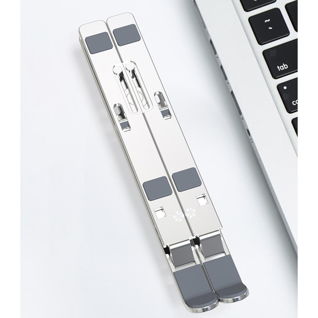 Indexbild 2 - Faltbarer Notebook Riser Halter Halterung Unterstützung Adapter Multi Angle