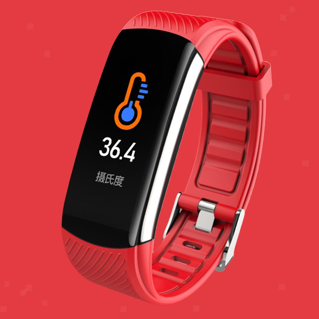 Indexbild 15 - Smart Watch Temperaturmesser Herzfrequenzmesser Blutdruck Fitness Tracker