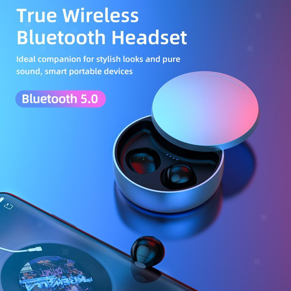 Casque-Bluetooth-5-0-Ecouteurs-Sans-Fil-TWS-Mini-ecouteurs-Stereo miniature 4
