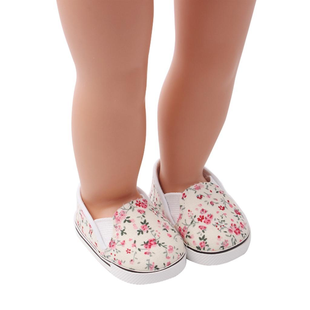 Adorable-Flats-Schuhe-Passt-Fuer-18-Zoll-American-Doll-Doll-Zubehoer Indexbild 6