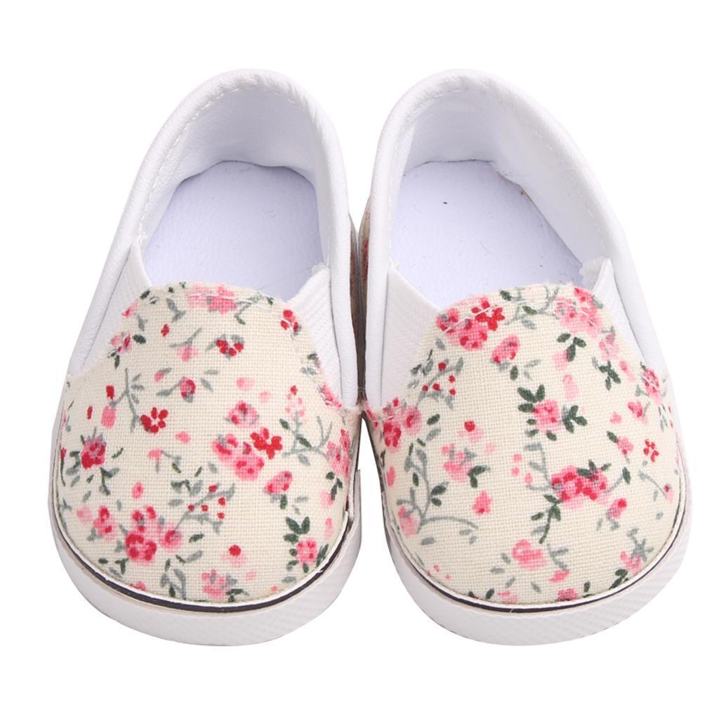 Adorable-Flats-Schuhe-Passt-Fuer-18-Zoll-American-Doll-Doll-Zubehoer Indexbild 7