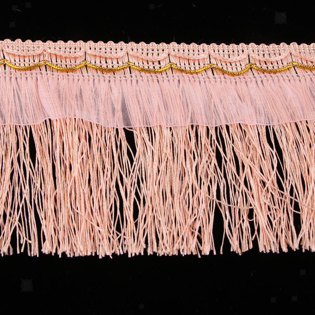 miniatura 7 - 1 rotolo di poliestere bordo nappa tappezzeria treccia trim tessuti per la casa