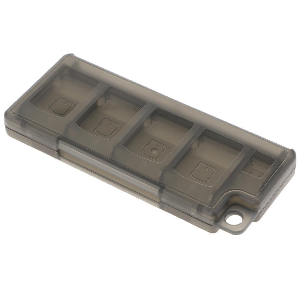 miniatura 7 - 10 Porta Carte Di Gioco Per Nintendo Switch NS Cartuccia Case Storage Shell