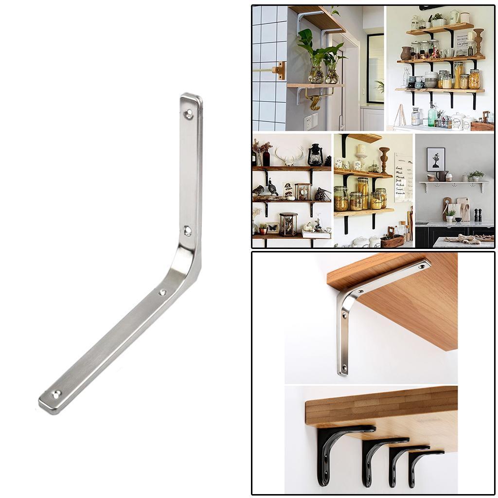 thumbnail 229 - Shelf   Floating Shelves Tripod Triangle Shelf Brackets for Bathroom