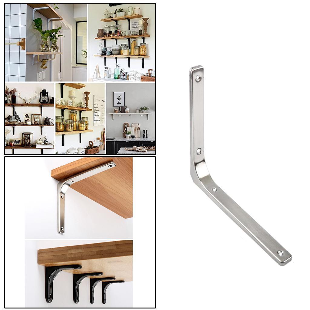 thumbnail 230 - Shelf   Floating Shelves Tripod Triangle Shelf Brackets for Bathroom