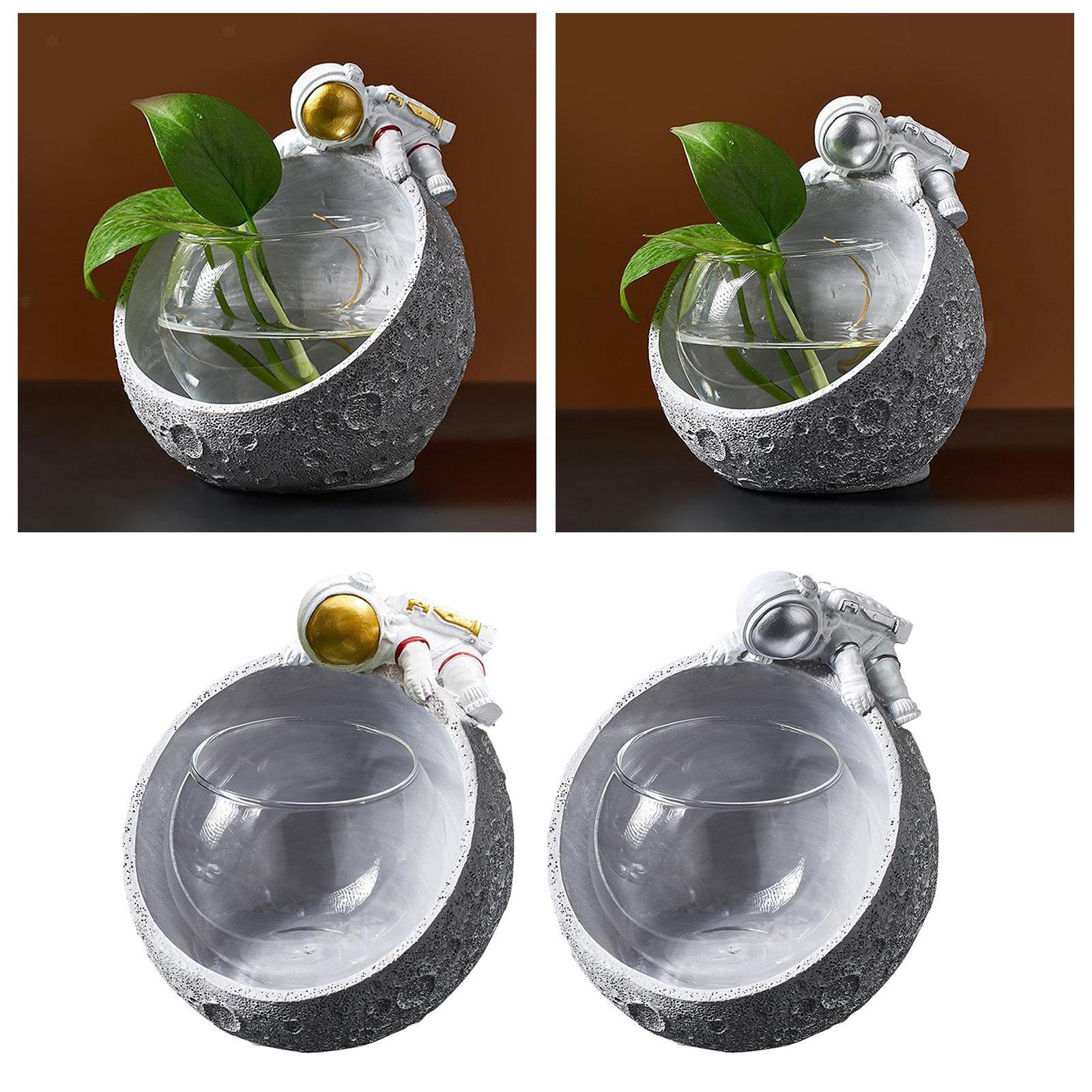 Glas Pflanzgefäße Tisch Pflanzgefäße Runde Glasvase Blumentöpfe