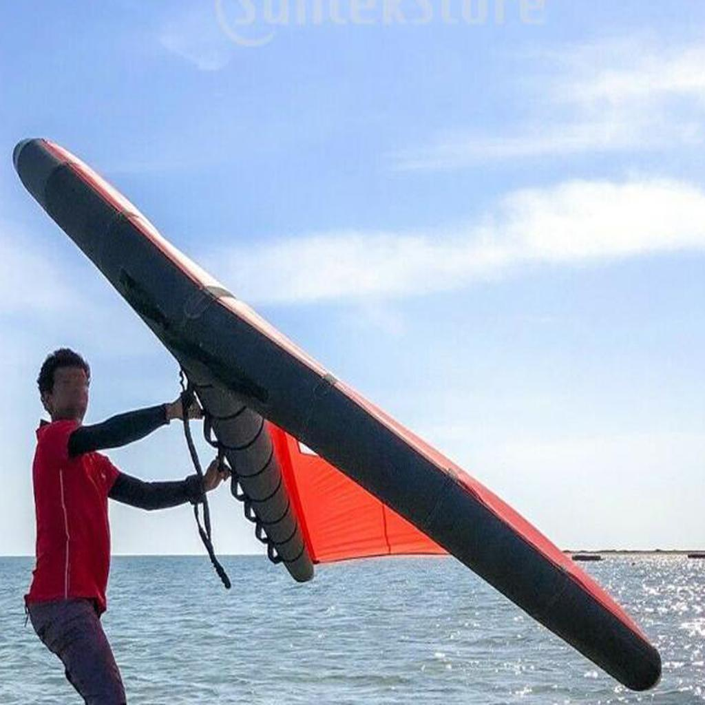 Foil Wing Kite Electric Kiteboarding Hydrofoil E Surf Electric Surfboard Wings Ebay