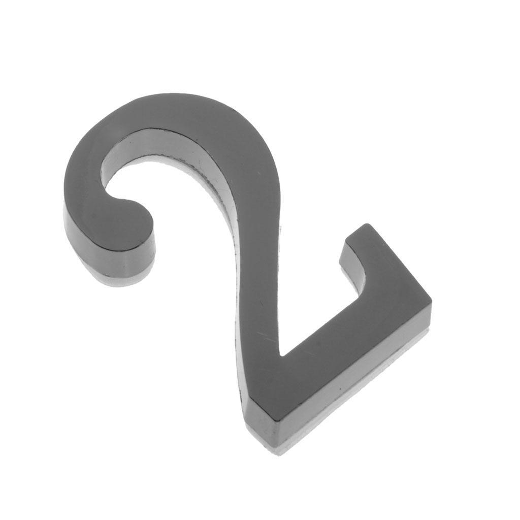 Metal-House-Door-Plaque-Hotel-Gate-Office-Dormitory-Number-Sign-Sticker miniature 6