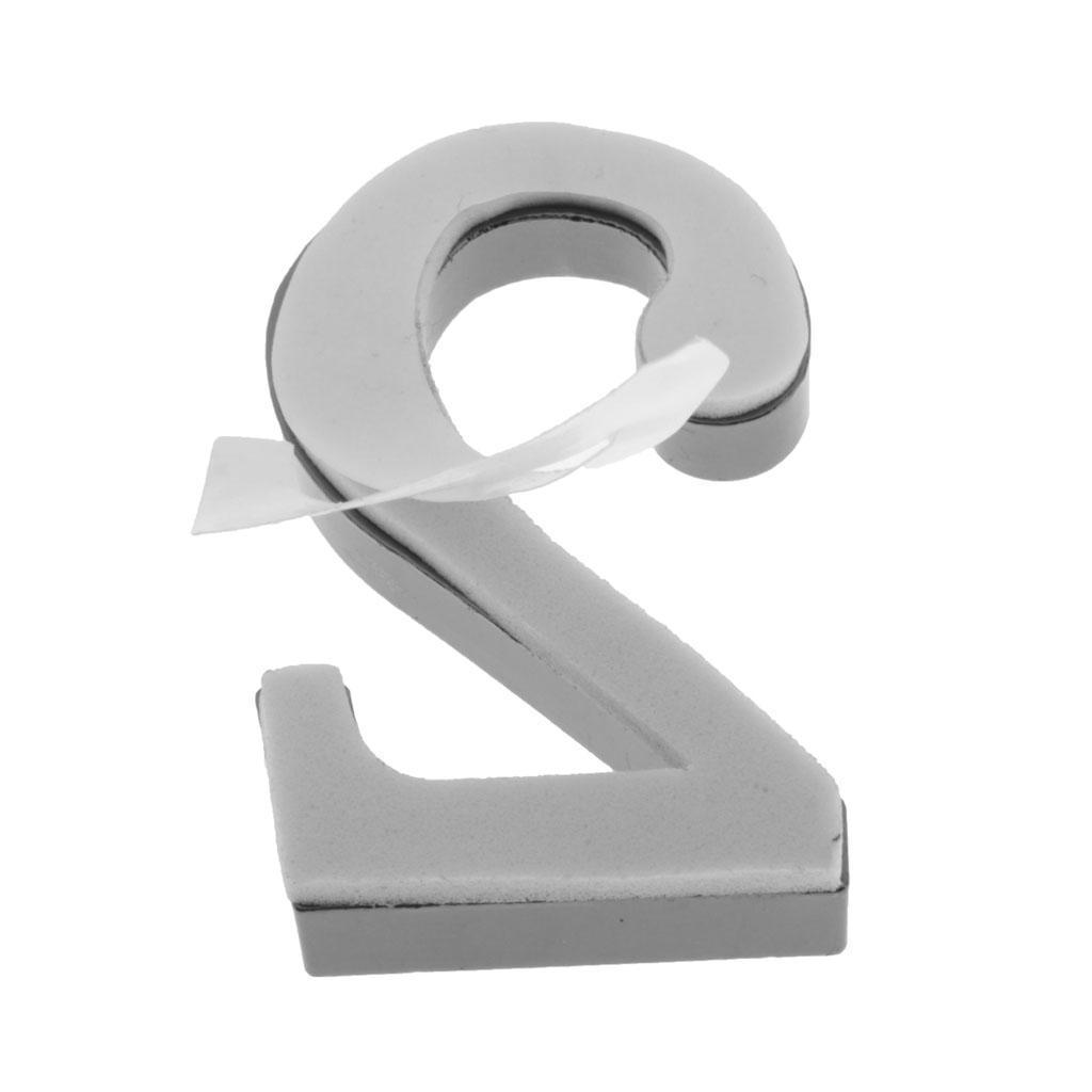 Metal-House-Door-Plaque-Hotel-Gate-Office-Dormitory-Number-Sign-Sticker miniature 7