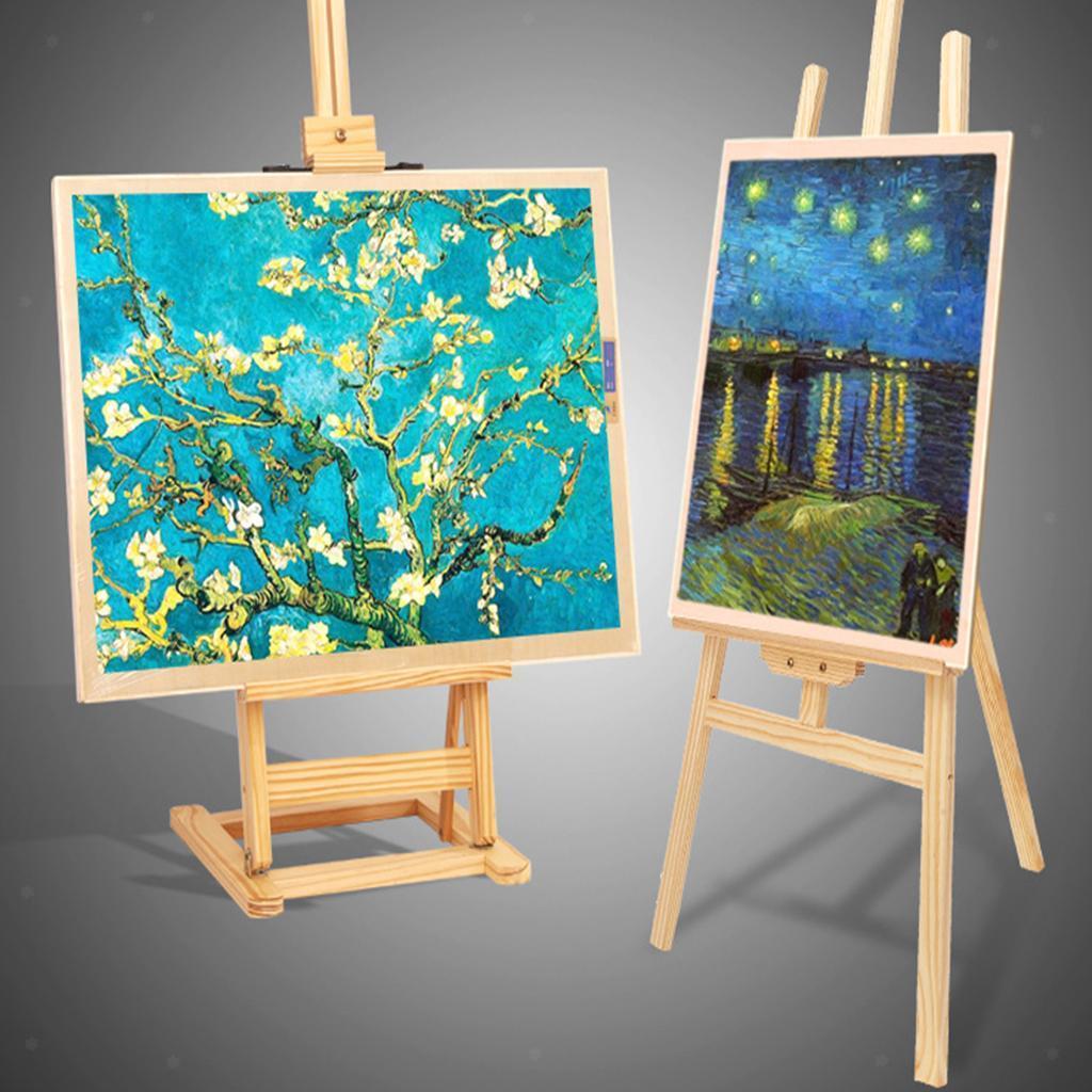 Stretched-Canvas-Board-Painting-Leinwand-fuer-Ol-Acrylfarbe-grundiert Indexbild 6