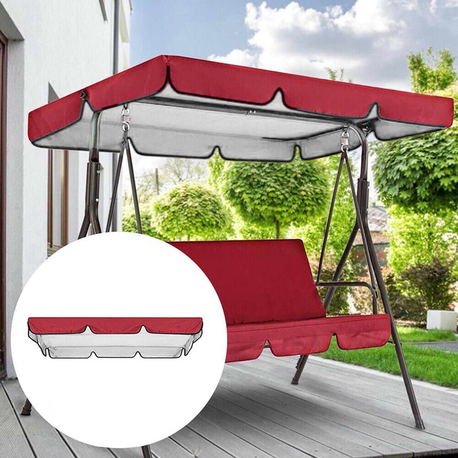 miniatura 42 - Copertura superiore della sedia a dondolo da giardino per esterni con