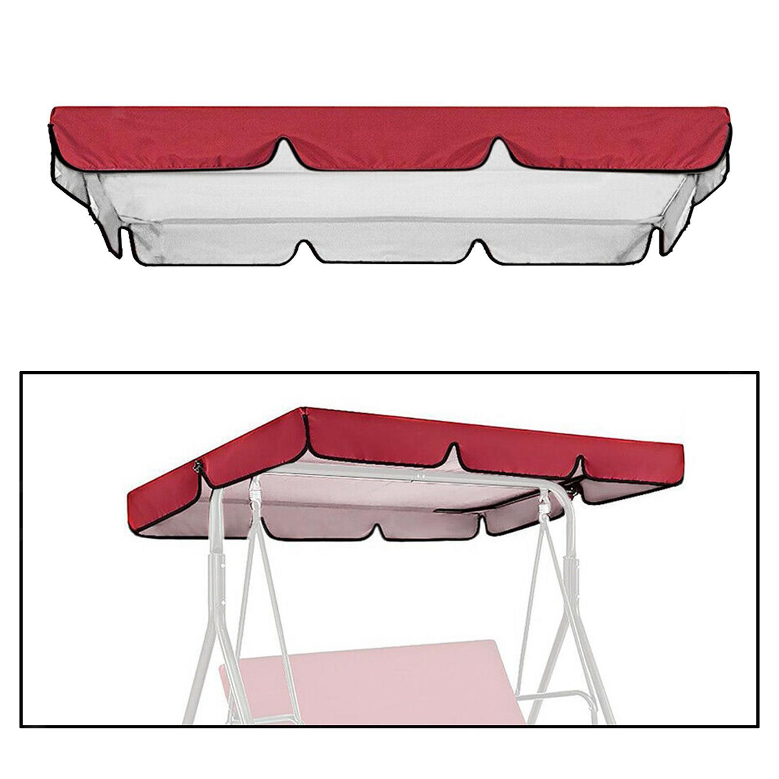 miniatura 44 - Copertura superiore della sedia a dondolo da giardino per esterni con
