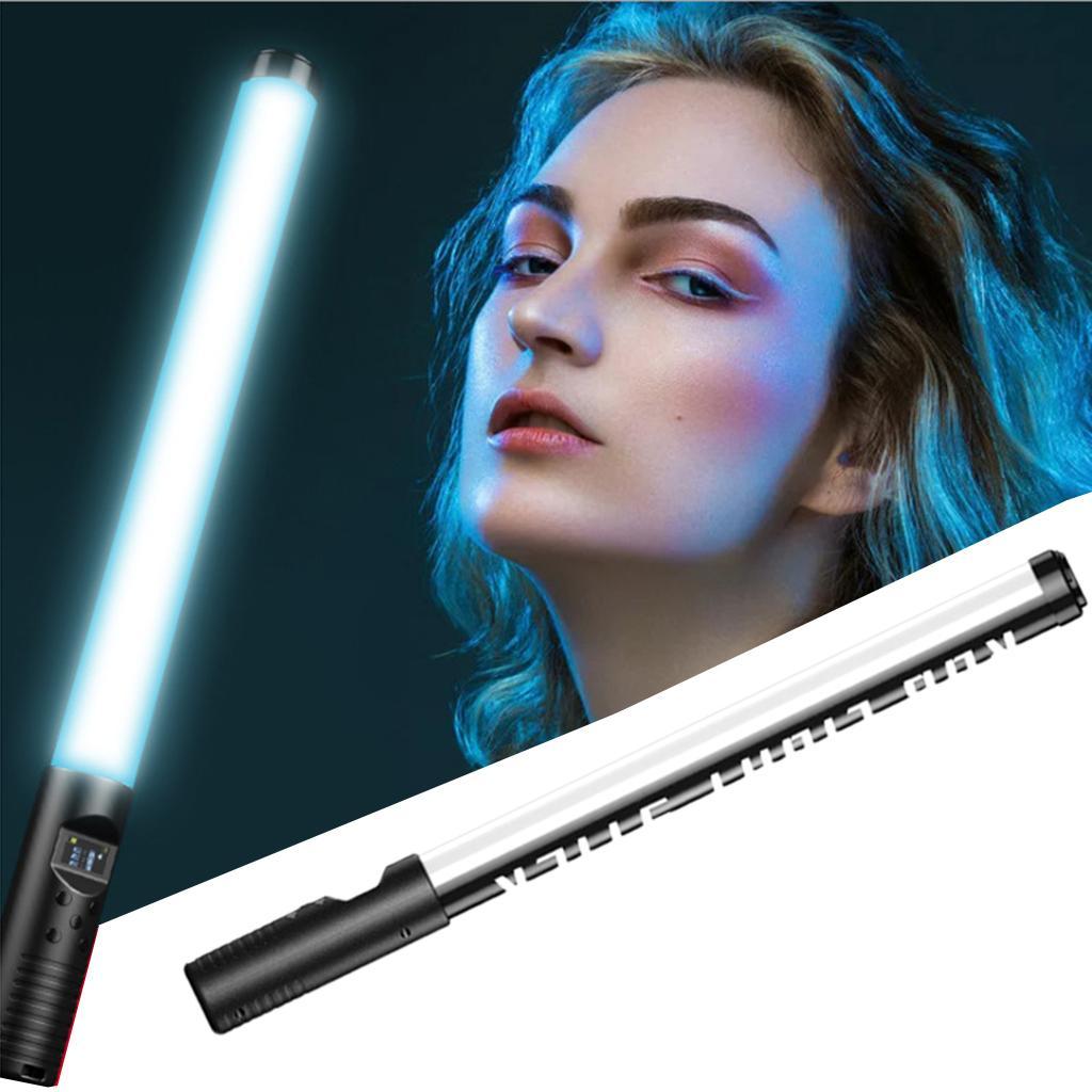 RGB LED Video Fill Light Tube Lights Bar Speedlight Remote Control Lighting