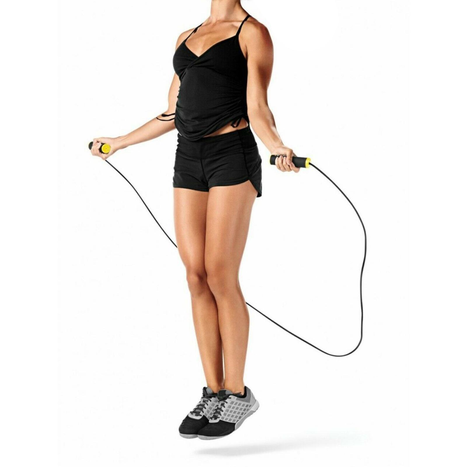 miniature 13 - Corde à sauter Réglable Corde À Sauter Enfants Garçons Filles Adulte Gym Fit