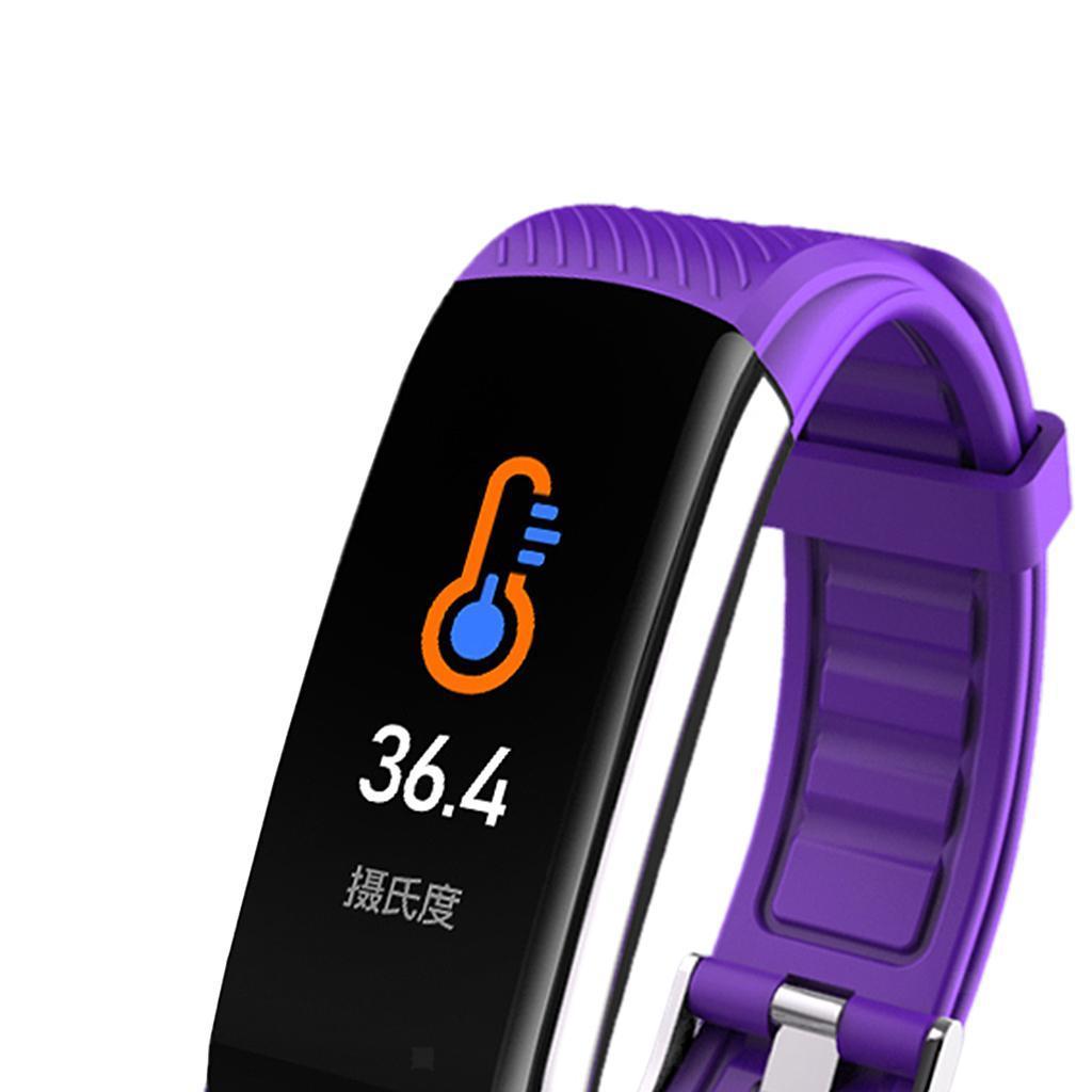 Indexbild 18 - Smart Watch Temperaturmesser Herzfrequenzmesser Blutdruck Fitness Tracker