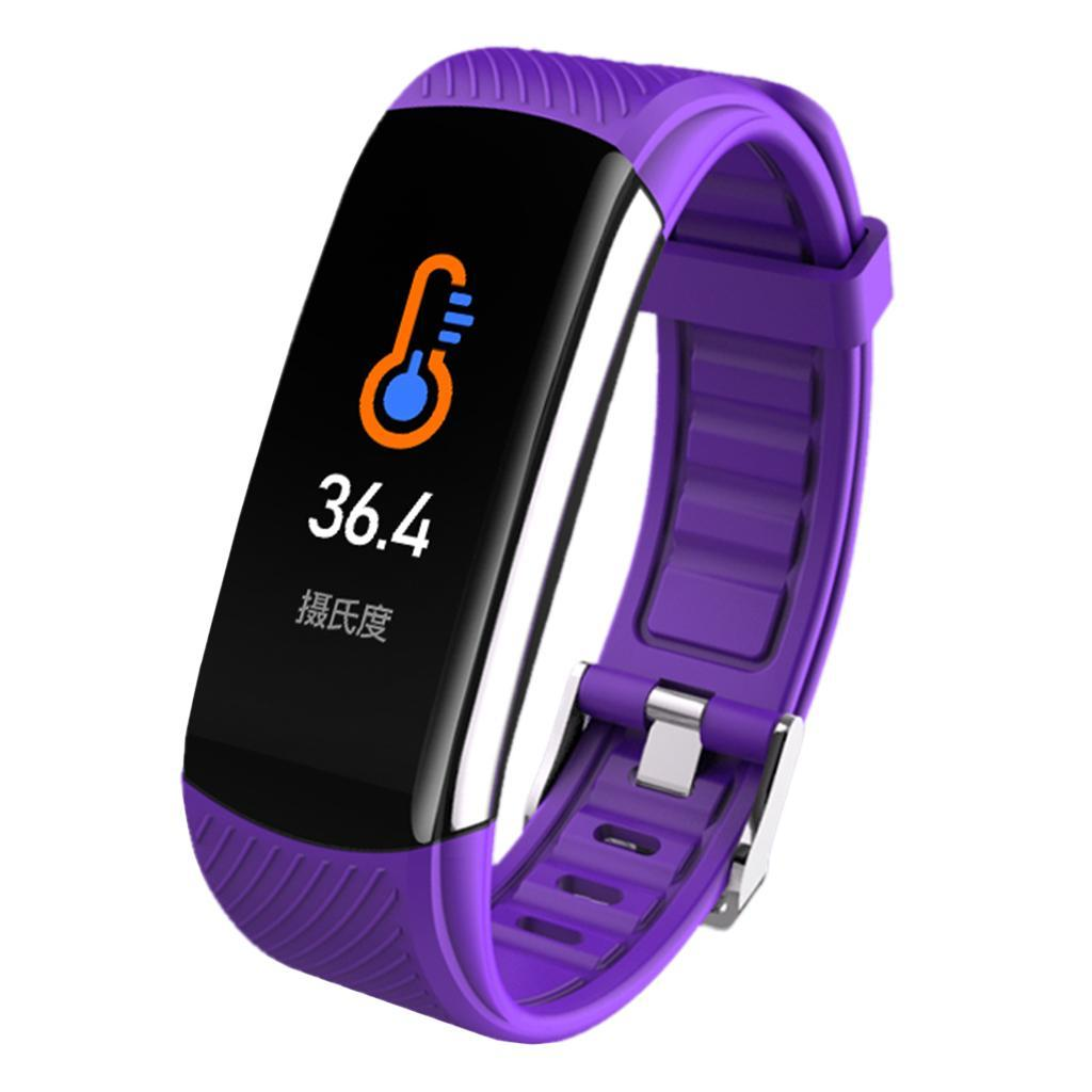 Indexbild 17 - Smart Watch Temperaturmesser Herzfrequenzmesser Blutdruck Fitness Tracker