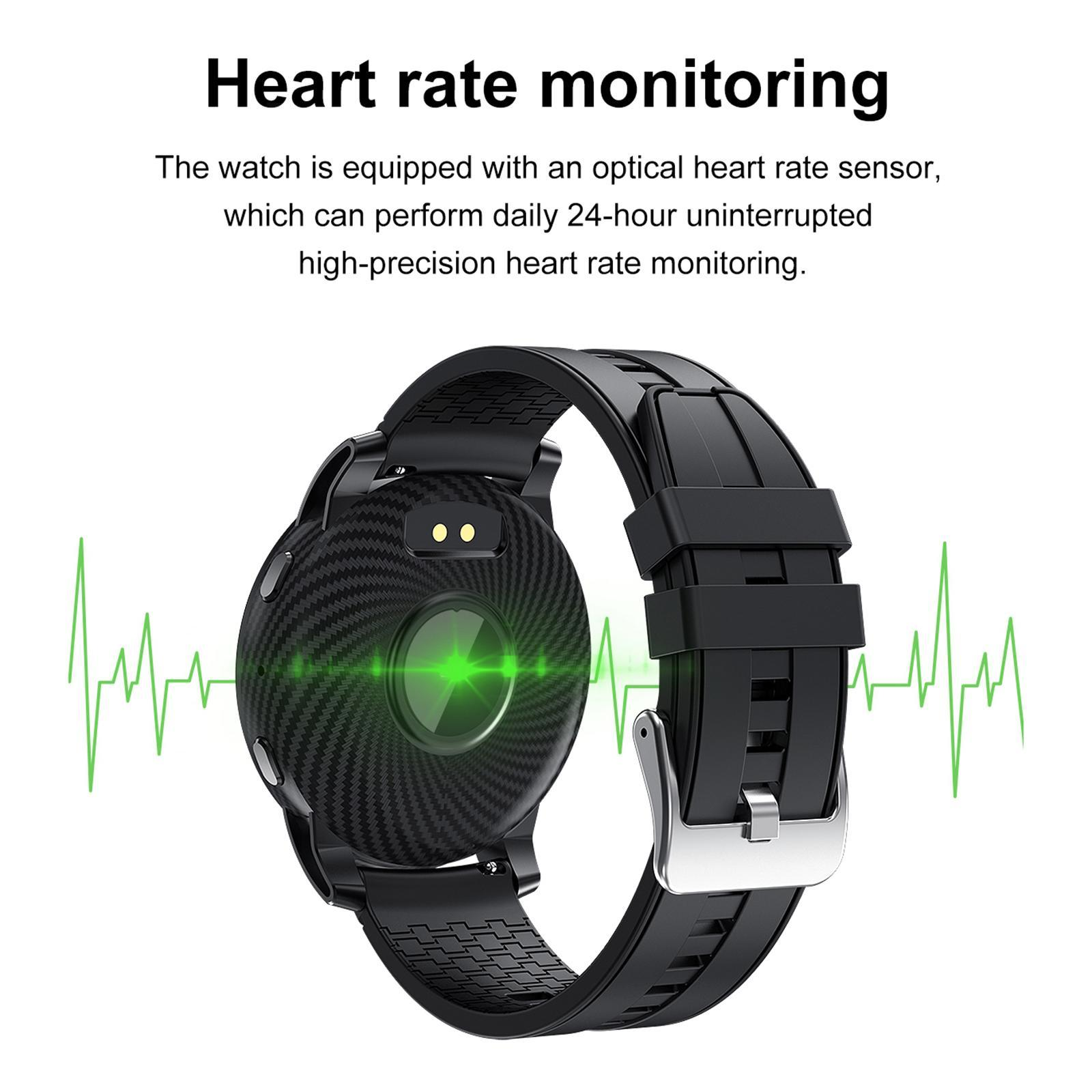 Hommes-Smart-Watch-Bluetooth-Call-Fitness-Tracker-frequence-cardiaque-sommeil miniature 13