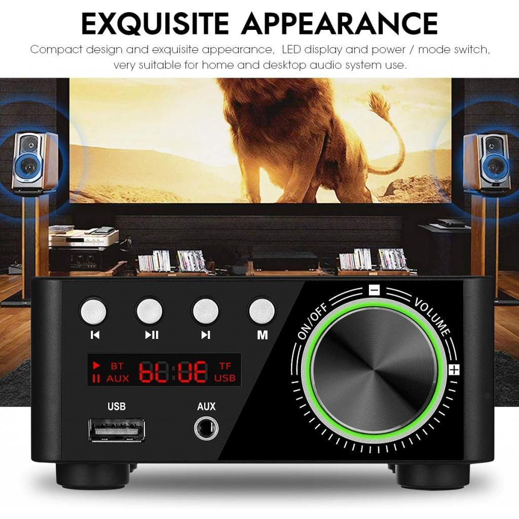 Indexbild 4 - Digitale-100W-Bluetooth-5-0-Power-Verstaerker-Hallo-fi-Stereo-2-0-Kanal-TF
