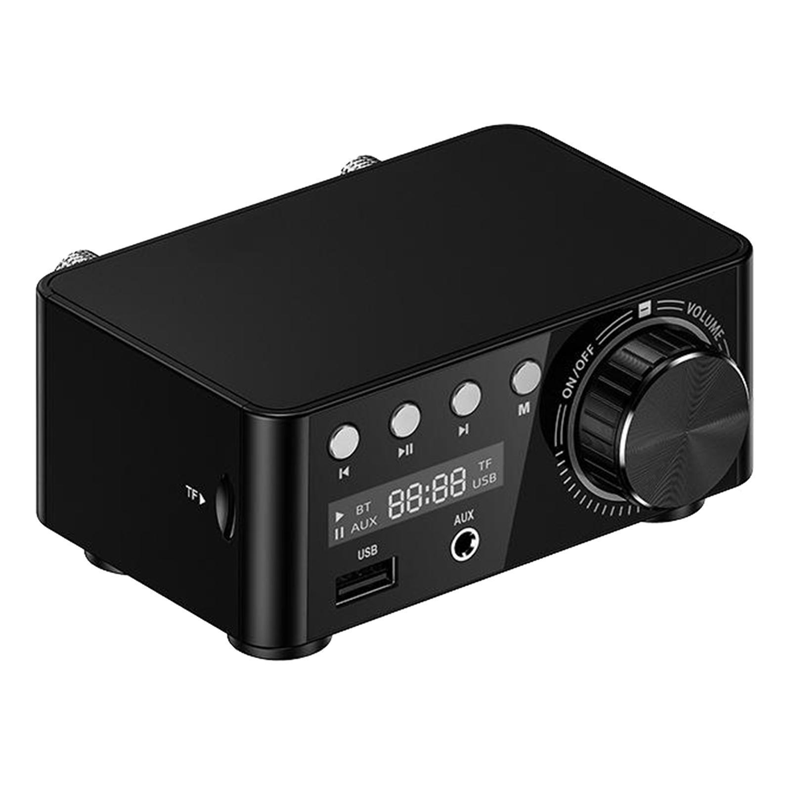 Indexbild 10 - Digitale-100W-Bluetooth-5-0-Power-Verstaerker-Hallo-fi-Stereo-2-0-Kanal-TF