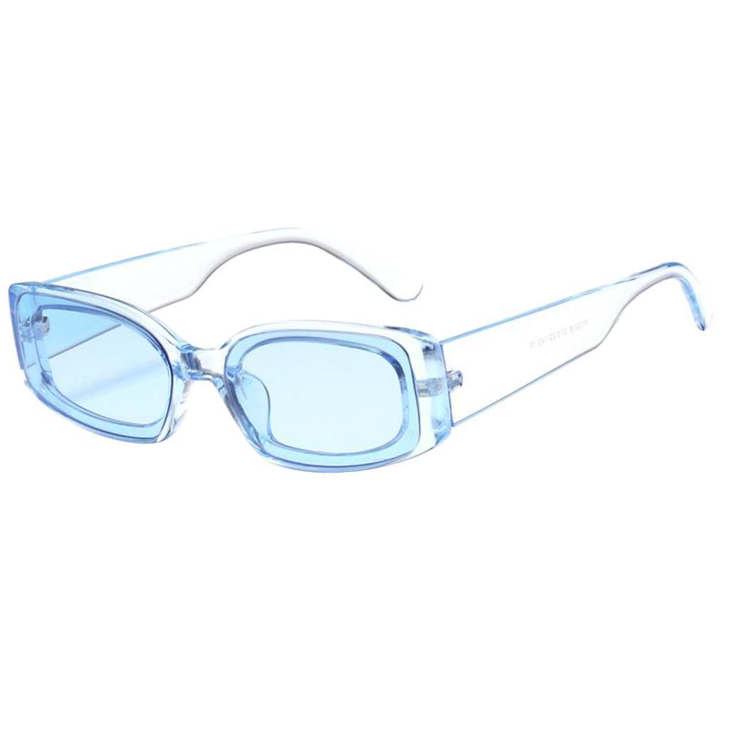Frauen-Mens-Square-Sonnenbrillen-Fashion-Candy-Farbe-Sonnenbrille-Shade Indexbild 16