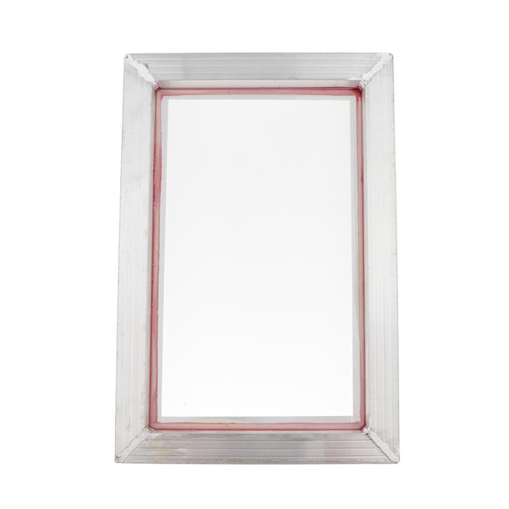 1-Packs-Screen-Printing-Frame-Aluminum-Polyester-Mesh-Circuit-Boards-43-Mesh thumbnail 3