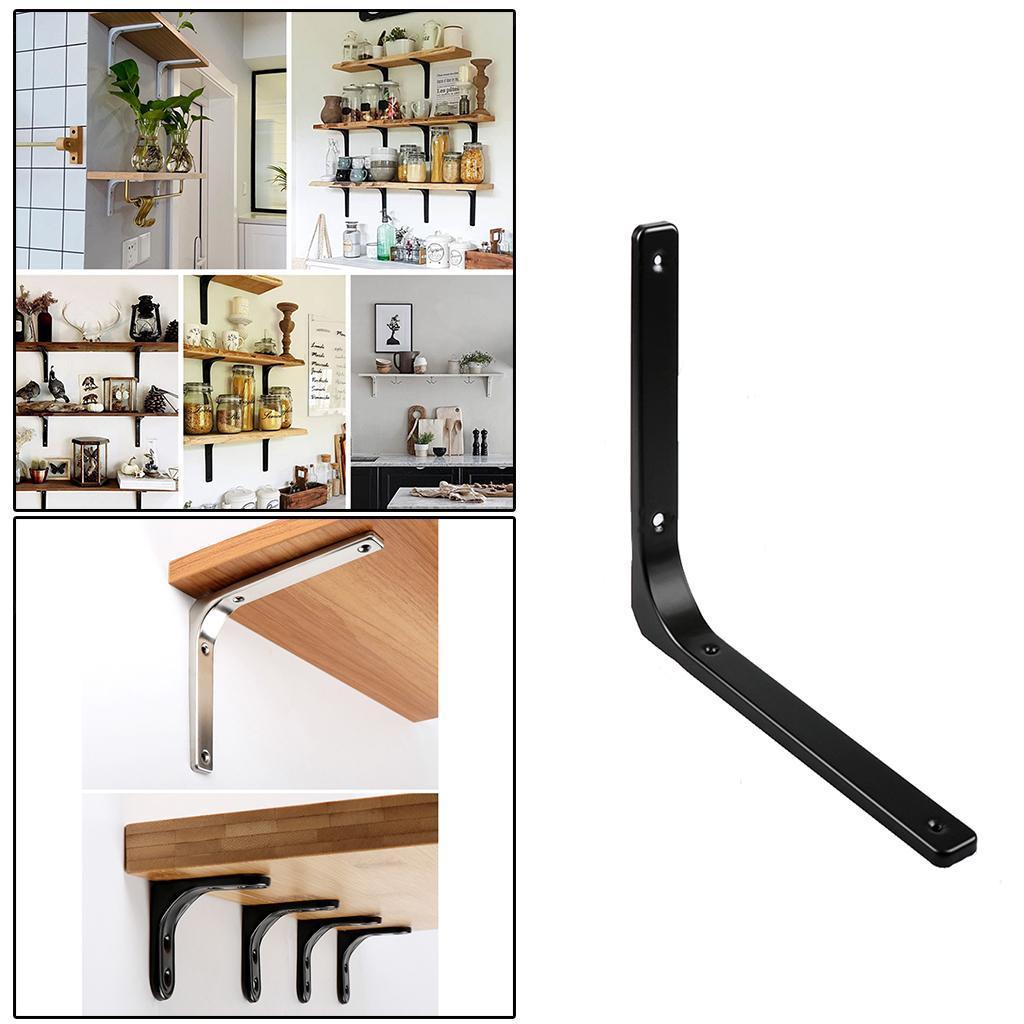 thumbnail 74 - Shelf   Floating Shelves Tripod Triangle Shelf Brackets for Bathroom