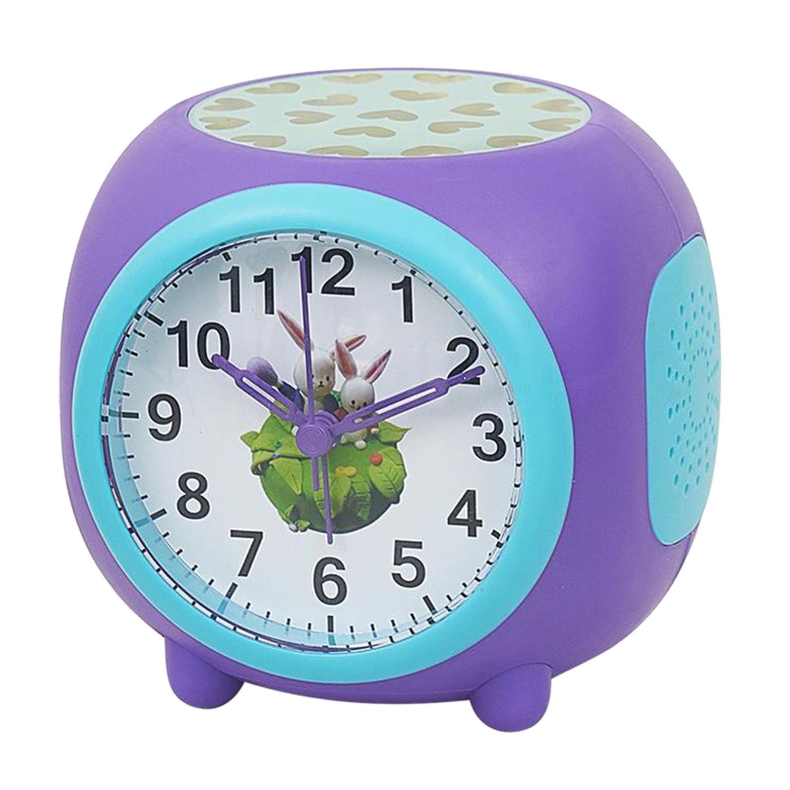 Controllo-vocale-Star-Projection-Lamp-Sveglia-Snooze-Clock-Orologio-da-camera-da miniatura 4