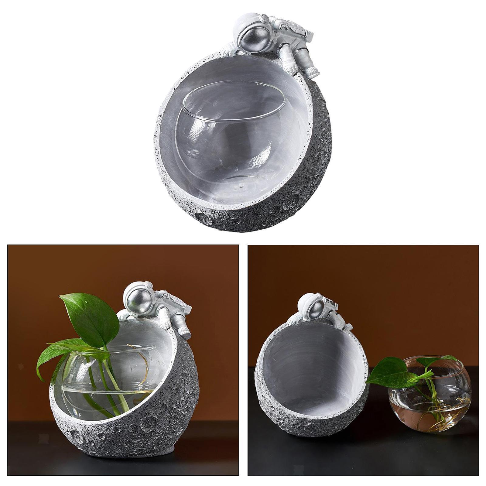 Indexbild 6 - Glas Pflanzgefäße Tisch Pflanzgefäße Runde Glasvase Blumentöpfe