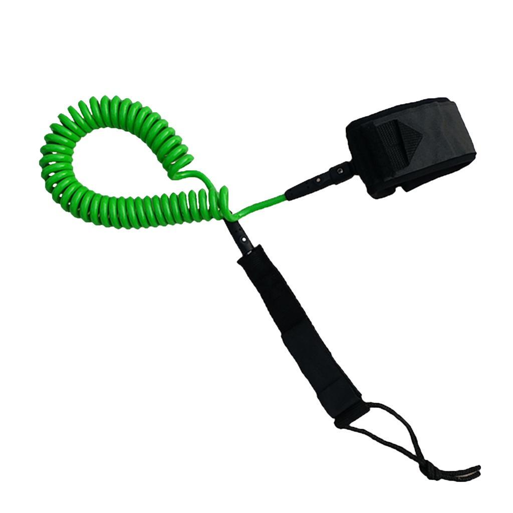 elastic rubber bungee cord fishing rod// kayak paddle leash with snap hook D UQ