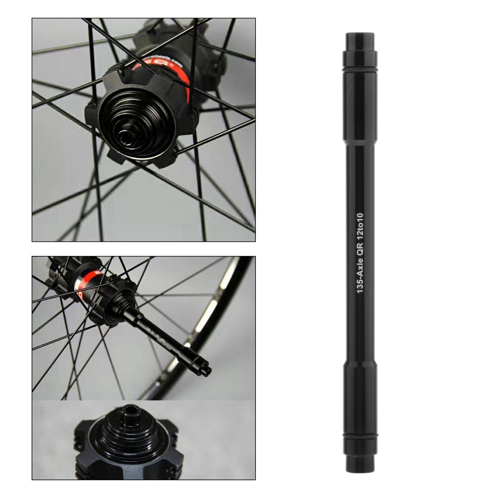 Lixada 12mm to 9mm QR Adapter MTB Bike Thru Axle Hub Quick Release 135mm Parts