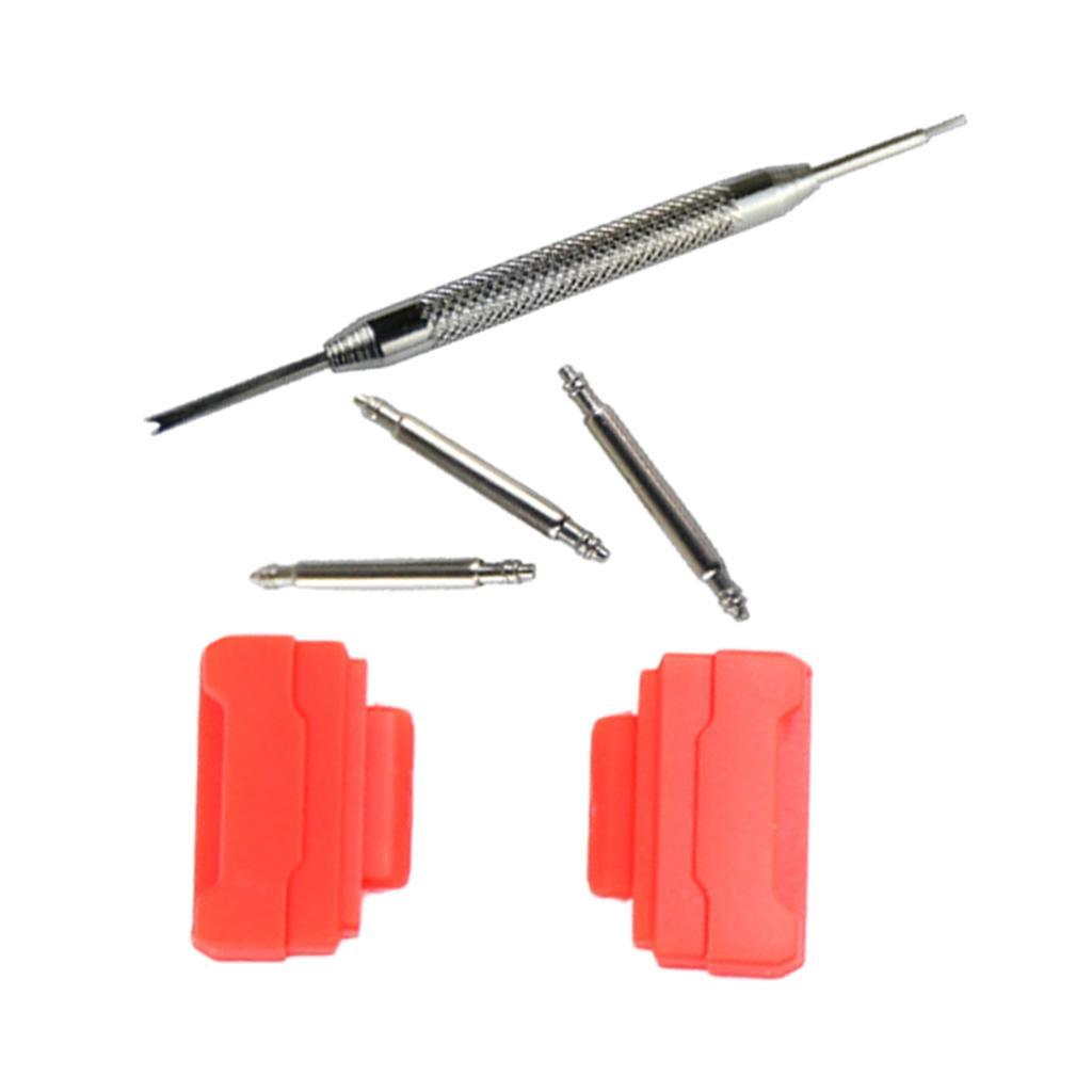 Uhrenarmband-Adapter-Kits-Strap-Connector-16mm-Fuer-GShock-Casio-Armband Indexbild 22