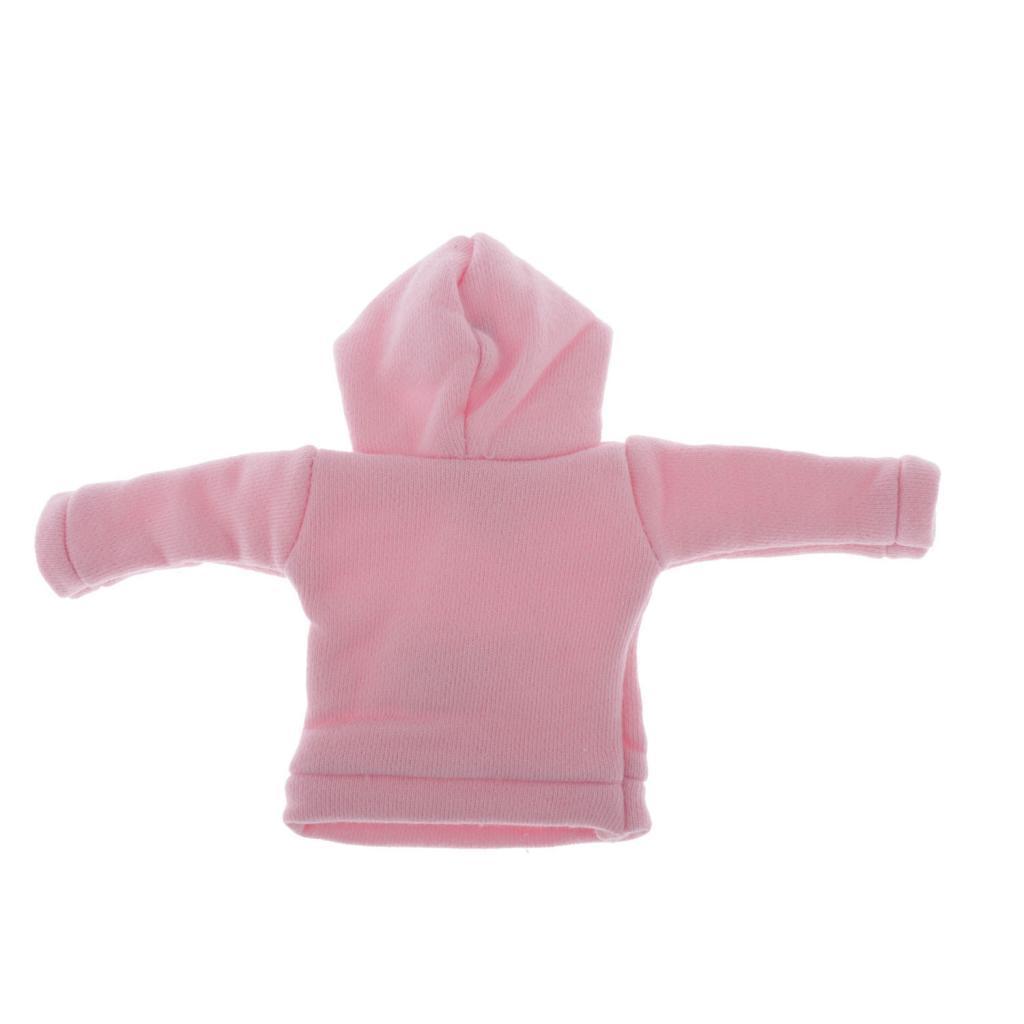 Fashion 1//6 Doll Hoodie Clothes Sportswear Sweatshirts for Blythe BJD Dolls