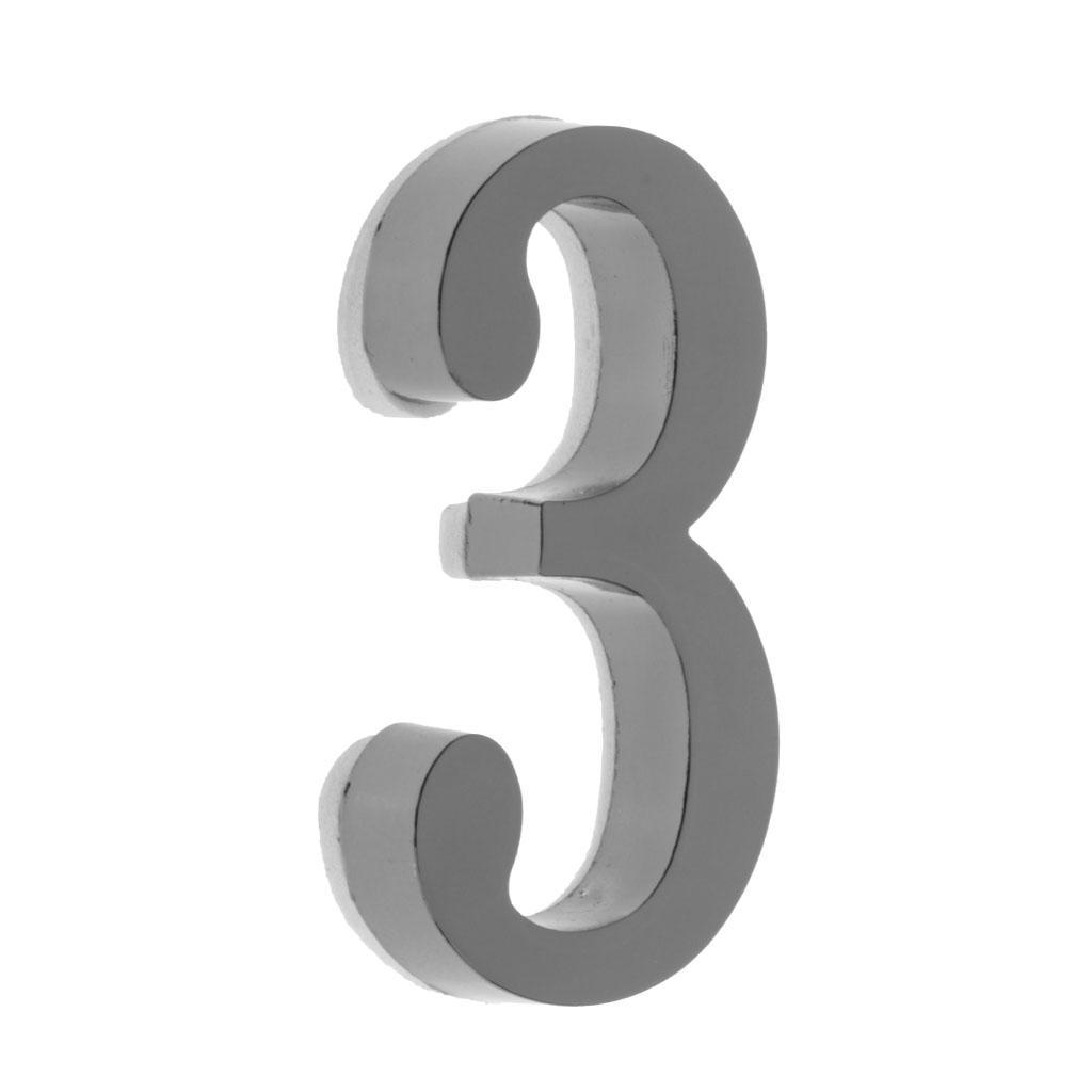 Metal-House-Door-Plaque-Hotel-Gate-Office-Dormitory-Number-Sign-Sticker miniature 9