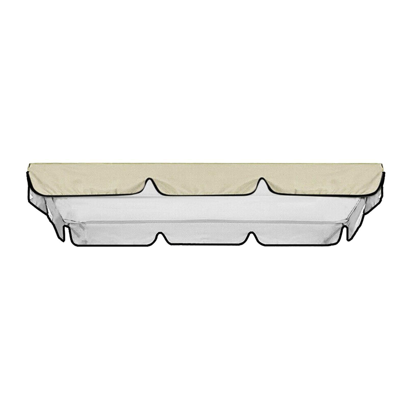 miniatura 55 - Copertura superiore della sedia a dondolo da giardino per esterni con