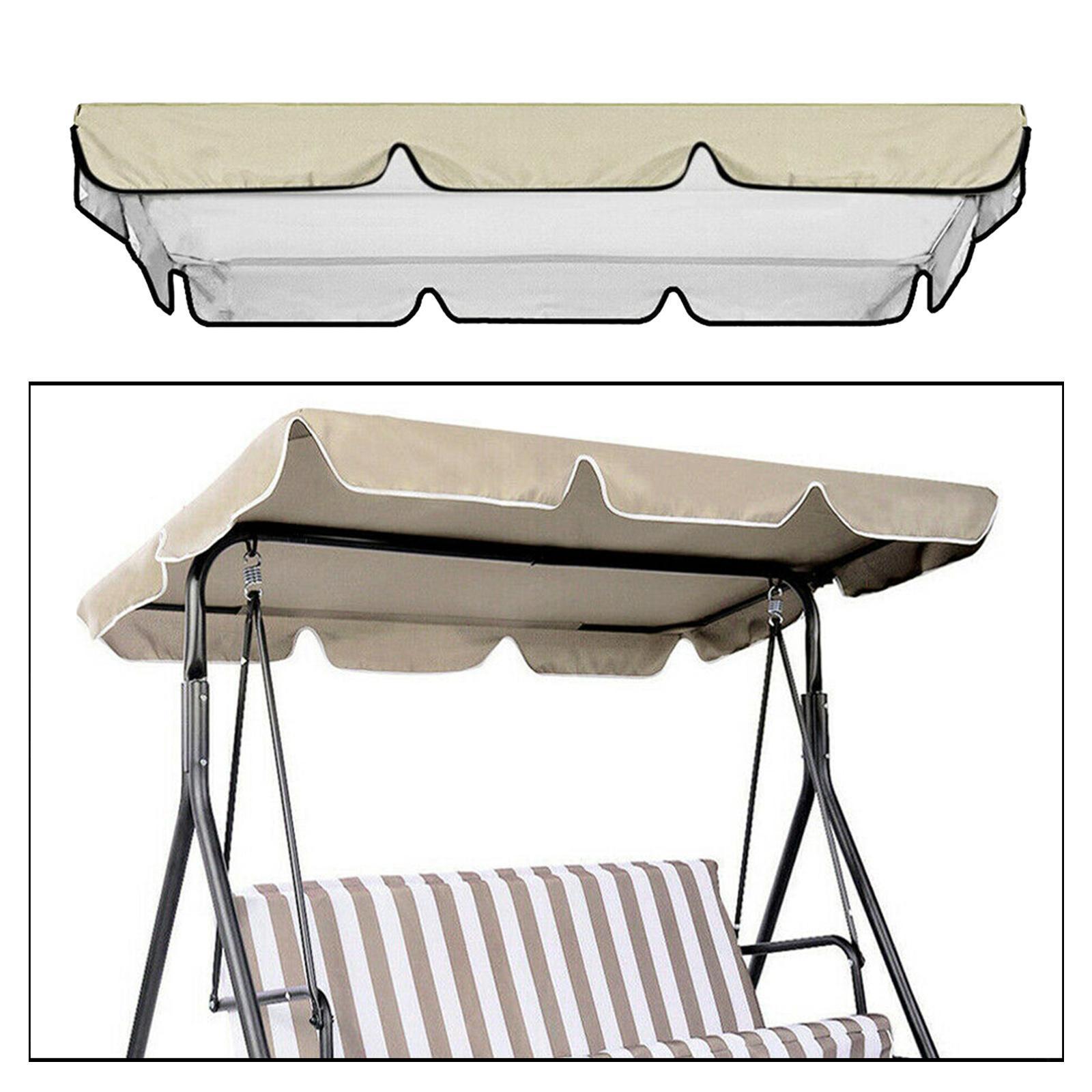 miniatura 52 - Copertura superiore della sedia a dondolo da giardino per esterni con