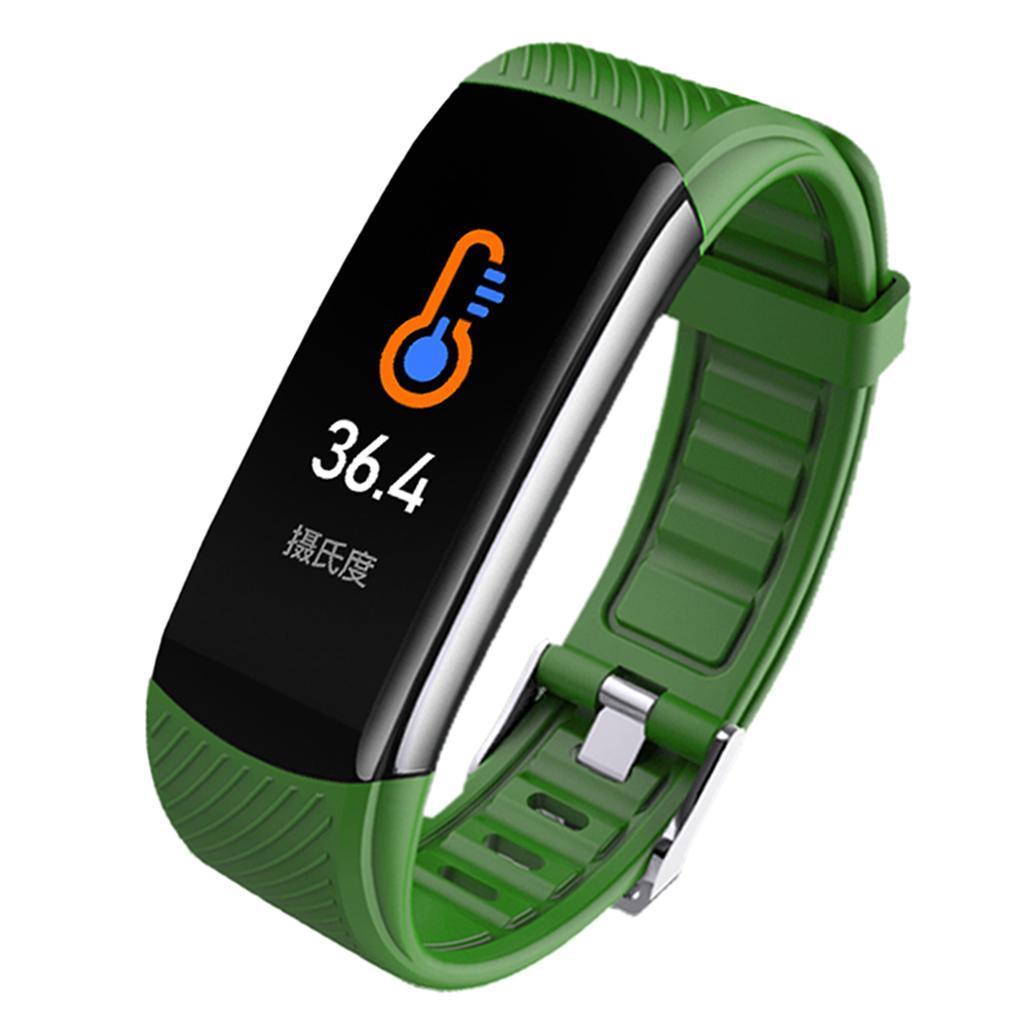 Indexbild 20 - Smart Watch Temperaturmesser Herzfrequenzmesser Blutdruck Fitness Tracker