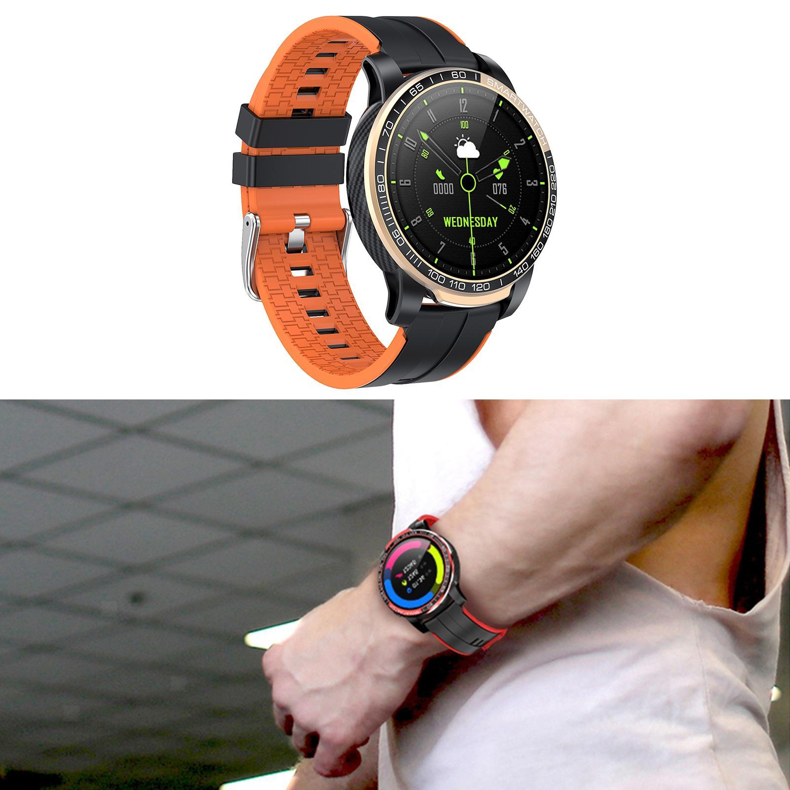 Hommes-Smart-Watch-Bluetooth-Call-Fitness-Tracker-frequence-cardiaque-sommeil miniature 18