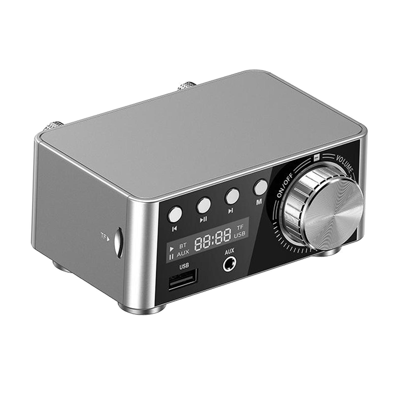 Indexbild 22 - Digitale-100W-Bluetooth-5-0-Power-Verstaerker-Hallo-fi-Stereo-2-0-Kanal-TF