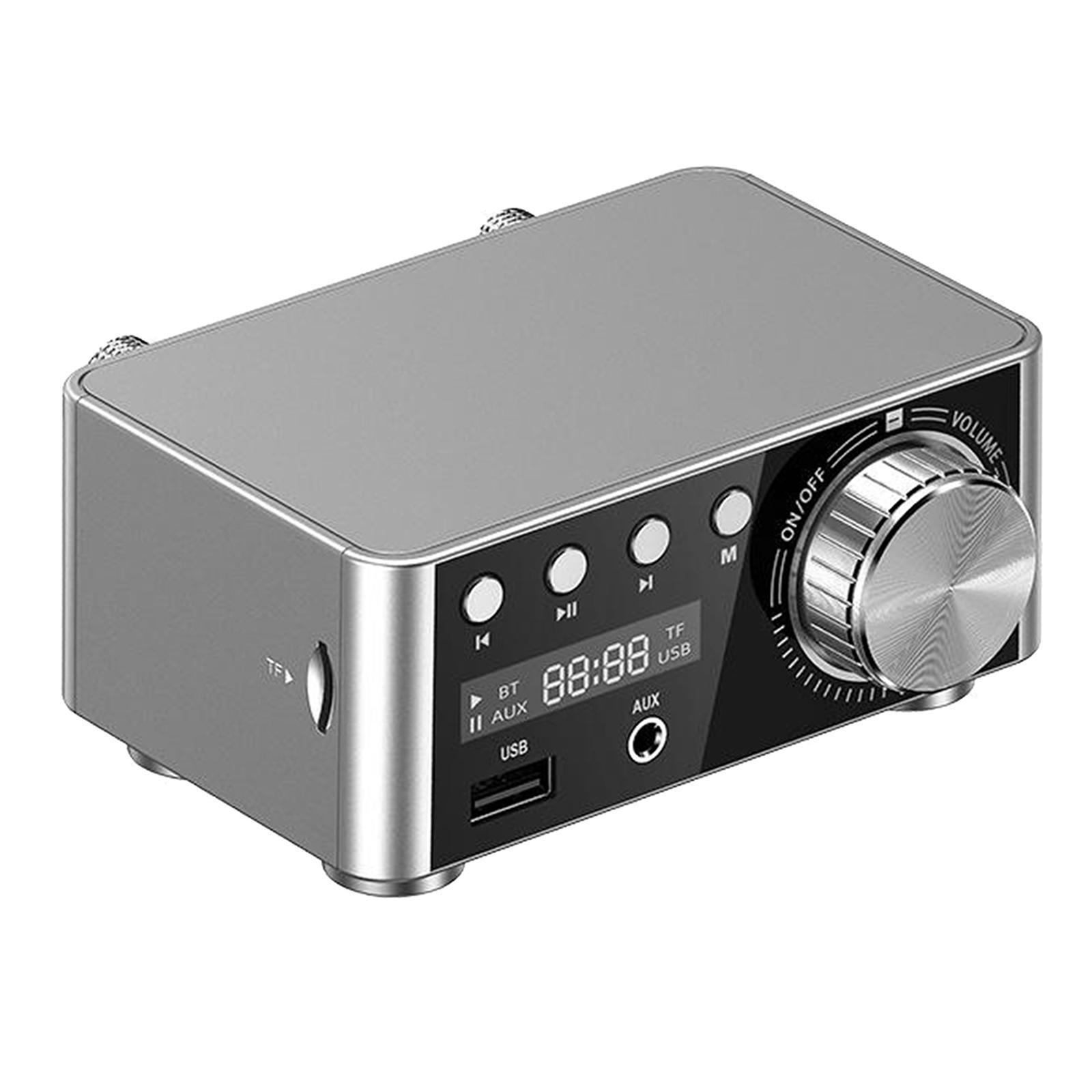 Indexbild 20 - Digitale-100W-Bluetooth-5-0-Power-Verstaerker-Hallo-fi-Stereo-2-0-Kanal-TF