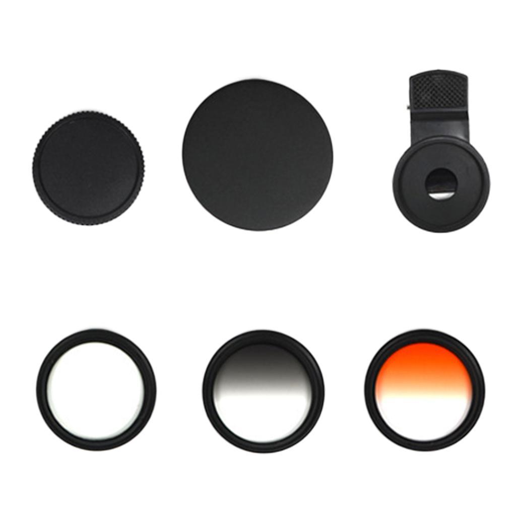 Indexbild 4 - 12 in 1 37 mm Filterhandelkamera Objektiv Set CPL Filter ND8 STAR Schieß