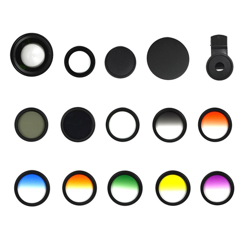Indexbild 8 - 12 in 1 37 mm Filterhandelkamera Objektiv Set CPL Filter ND8 STAR Schieß
