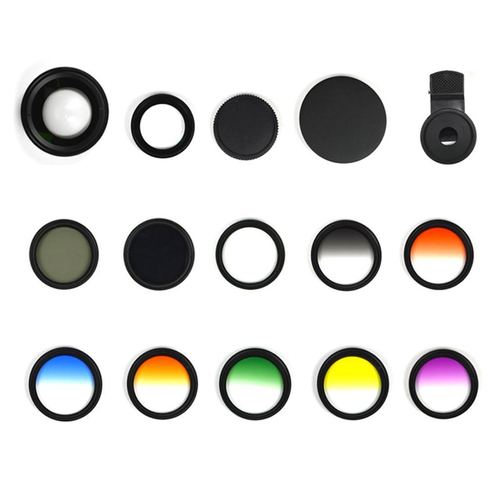 Indexbild 3 - 12 in 1 37 mm Filterhandelkamera Objektiv Set CPL Filter ND8 STAR Schieß