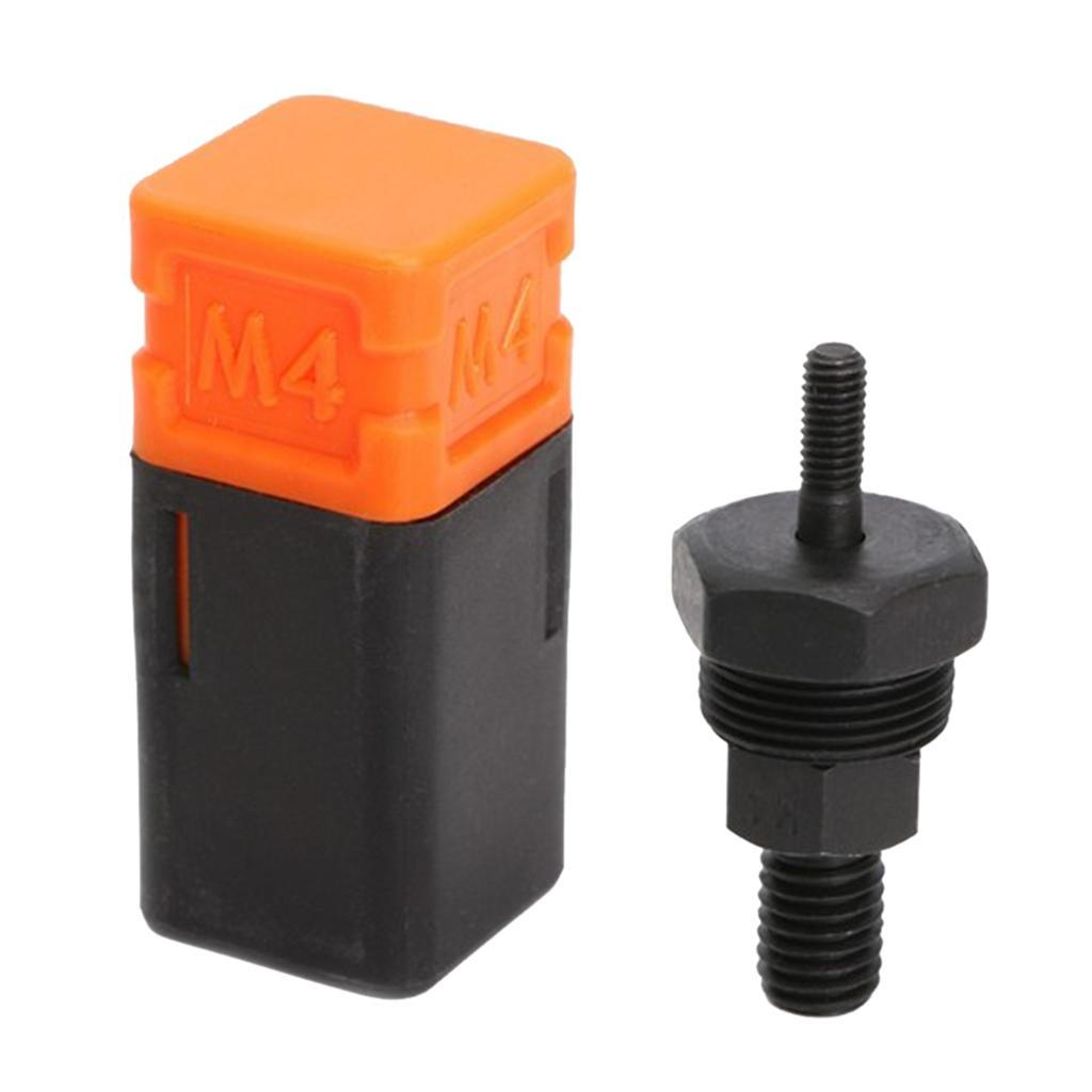 Details about  /2Pcs Steel Riveter Nut tool Mandrel Nose Piece Part Hand tool M3//5 Nice Fashion