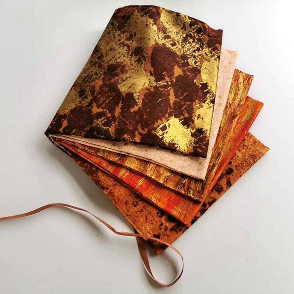 5x-Drucken-Baumwolle-Patchworks-Stoffe-Naehen-Quilt-Stoff-Patches-DIY-Puppen Indexbild 16