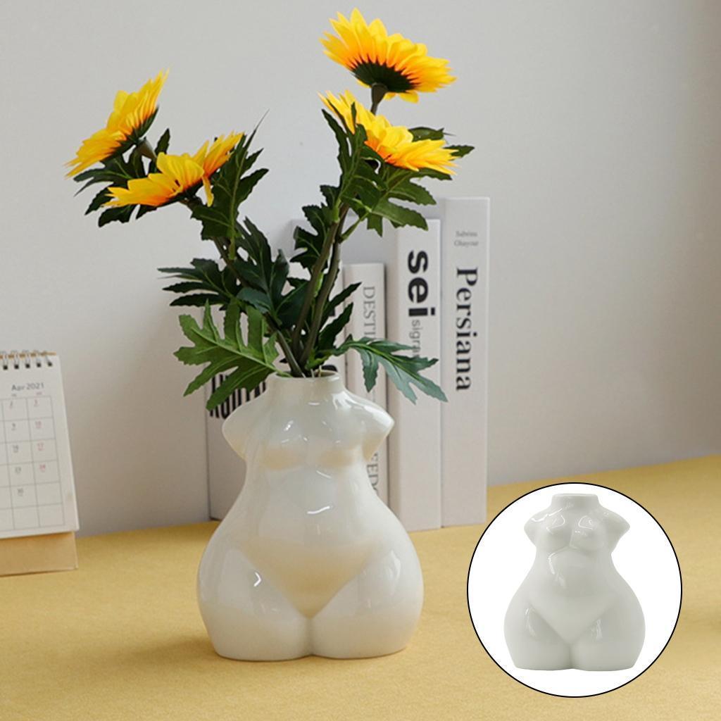 Indexbild 64 - Keramikkörper Blumenvase Blumentöpfe Nordic Boho Minimalistische