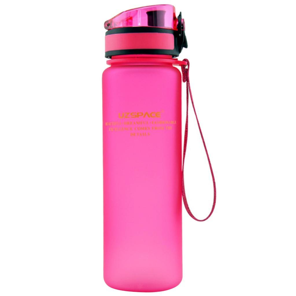 Durable Portable Sports Water Bottle Travel Running Large Capacity BPA Free